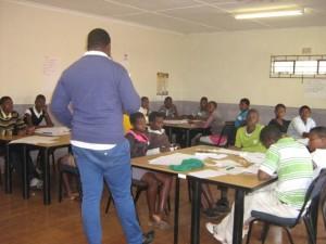 School support mentor training peer educators